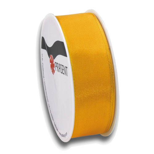 3-meter-geschenkband-seide-in-gelb-25-mm