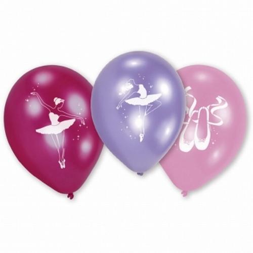 10-luftballons-kindergeburtstag-ballerina-ballett