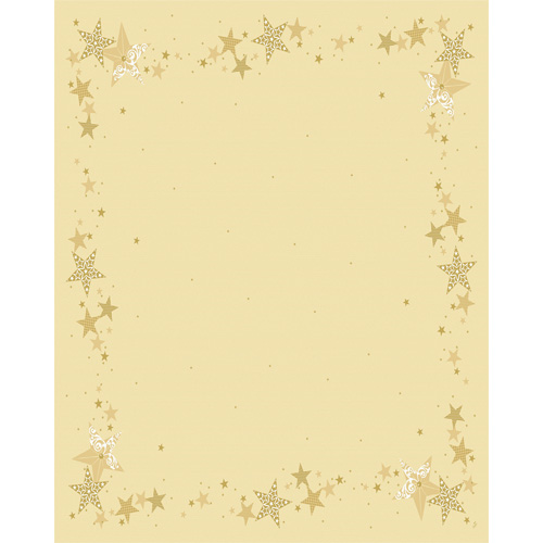 Duni Dunicel Tischdecken Walk of Fame Cream, 120 x 160 cm