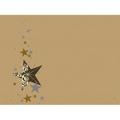 duni-papier-tischsets-walk-of-fame-cream-kraft-30-x-40-cm