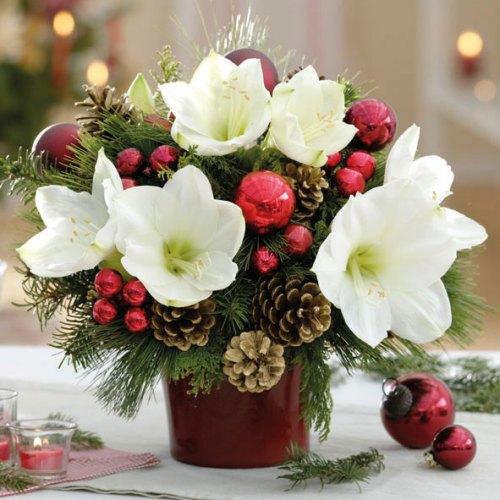 20er-pack-servietten-amaryllis-weihnachtsgesteck-33-x-33-cm