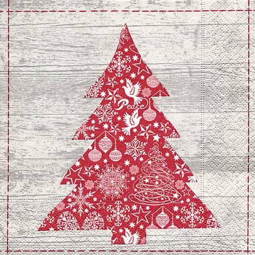 20er-pack-servietten-roter-weihnachtsbaum-33-x-33-cm