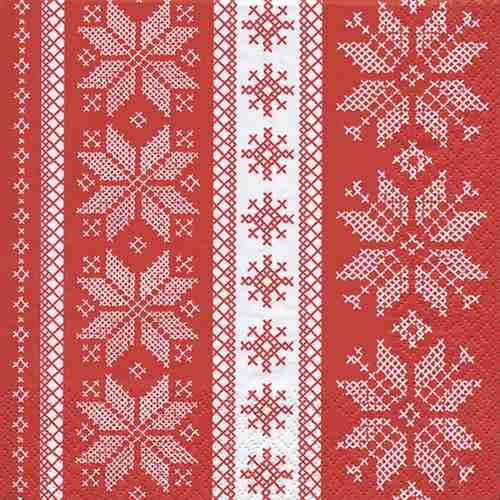 20er-pack-servietten-winter-ornamente-in-rot-wei-33-x-33-cm