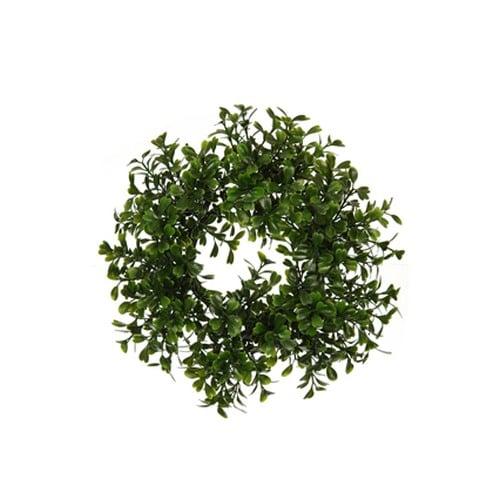 kunstblume-buchsbaum-dekokranz-kerzenring-21-cm