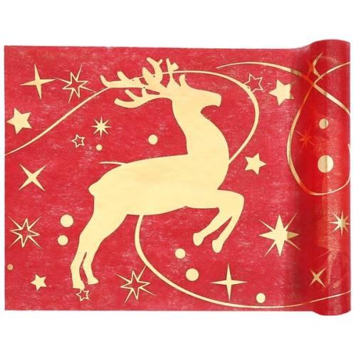 5-meter-vlies-tischlaufer-weihnachten-rentier-sterne-in-rot-gold-30-cm