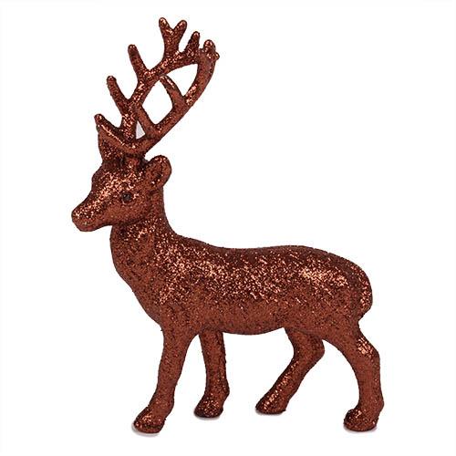 deko-hirsch-in-bronze-glitzernd-14-cm