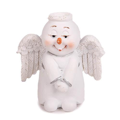 gastgeschenk-weihnachten-schneemann-engel-50-mm, 2.65 EUR @ tafeldeko-de