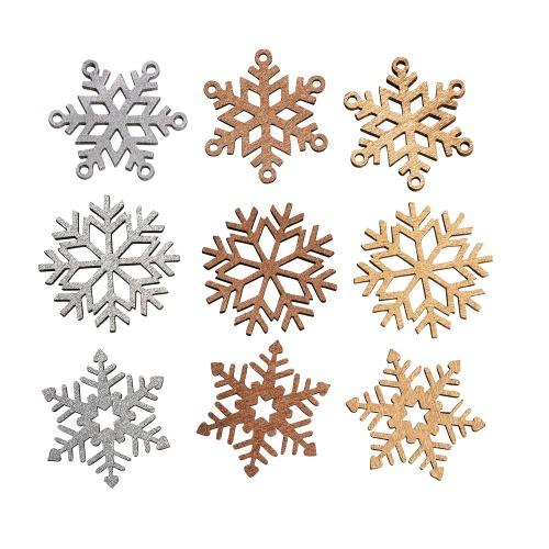 9-holz-streuteile-weihnachten-glitzer-eiskristalle-schneeflocken-40-mm