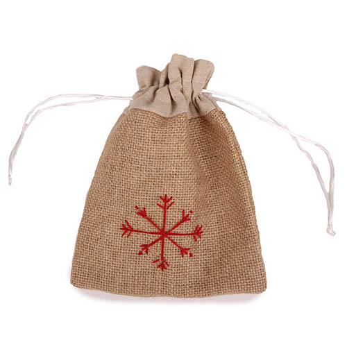 jute-geschenkbeutel-mit-schneeflocke-weihnachten-20-cm