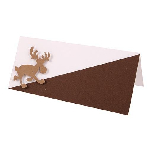 tischkarte weihnachten gem tliche weihnachtszeit. Black Bedroom Furniture Sets. Home Design Ideas