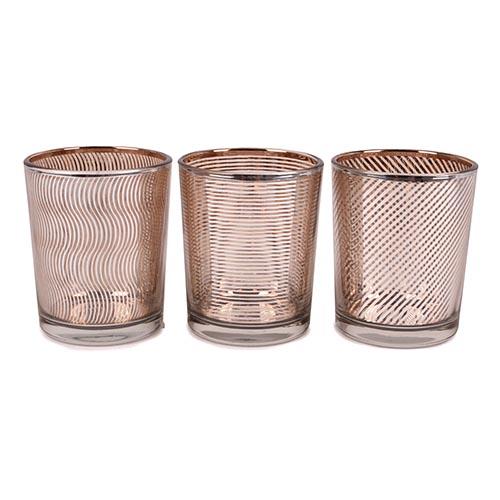 3er-set-teelichtglaser-linien-verspiegelt-in-silber-rosegold-65-mm