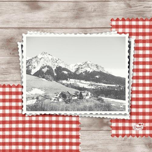 duni zelltuch servietten mountain 33 x 33 cm. Black Bedroom Furniture Sets. Home Design Ideas