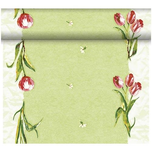 24 meter rolle duni dunicel tischl ufer red tulip. Black Bedroom Furniture Sets. Home Design Ideas
