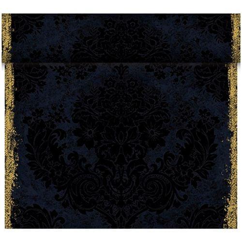 24 meter rolle duni dunicel tischl ufer royal black. Black Bedroom Furniture Sets. Home Design Ideas