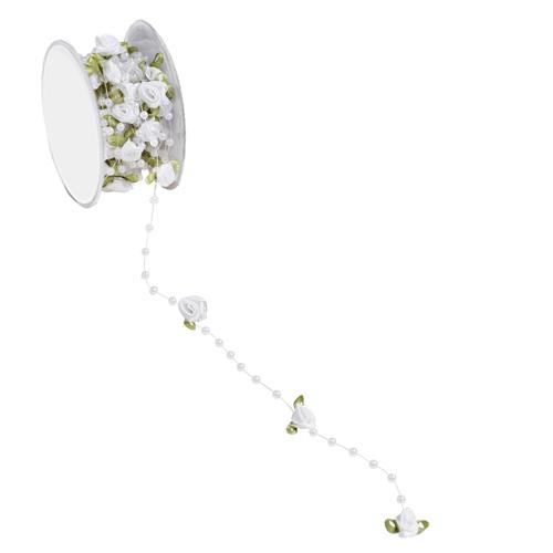 5-meter-trendy-rosen-tischband-in-wei-grun