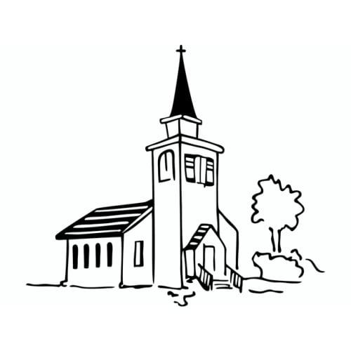 Stempel Kirche Hochzeit Kommunion Taufe 71 X 69 Mm Tafeldeko De