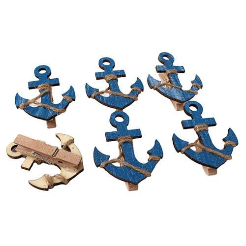6-deko-holz-klammern-maritim-anker-55-mm