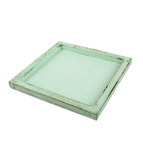 holztablett-gesteckunterlage-quadratisch-in-mintgrun-20-cm