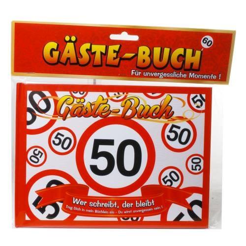 gastebuch-50-geburtstag-verkehrsschild