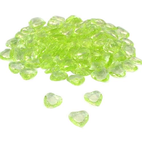 100-deko-diamant-herzen-in-hellgrun-12-mm
