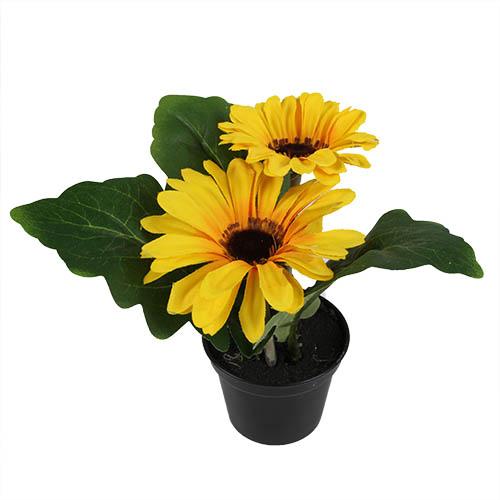 kunstblume-gerbera-topfchen-in-gelb-17-cm