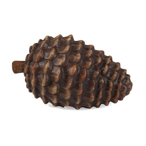 keramik-zapfen-liegend-in-braun-15-cm