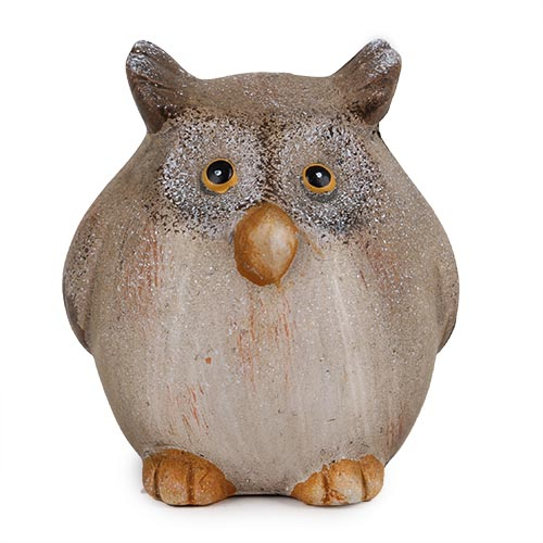 keramik-uhu-in-braun-70-mm