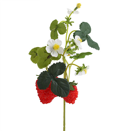 kunstblume-erdbeer-pick-29-cm