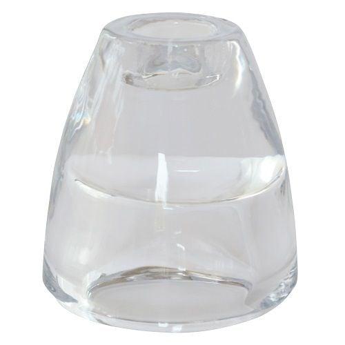 duni glas kerzenhalter 2 in 1 f r spitzkerzen leuchterkerzen und teelichter. Black Bedroom Furniture Sets. Home Design Ideas