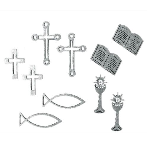 10-holz-streuteile-christliche-motive-in-silber