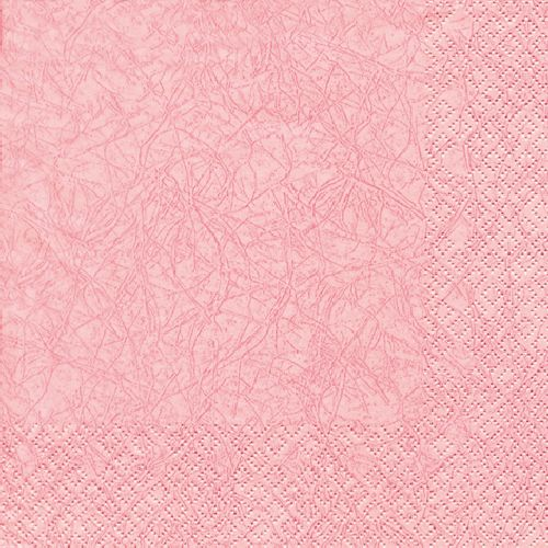 20er Pack Servietten Modern Colors rosa, 33 x 33 cm.