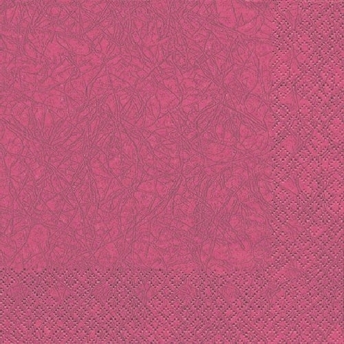 20er Pack Servietten Modern Colors bordeaux, 33 x 33 cm.