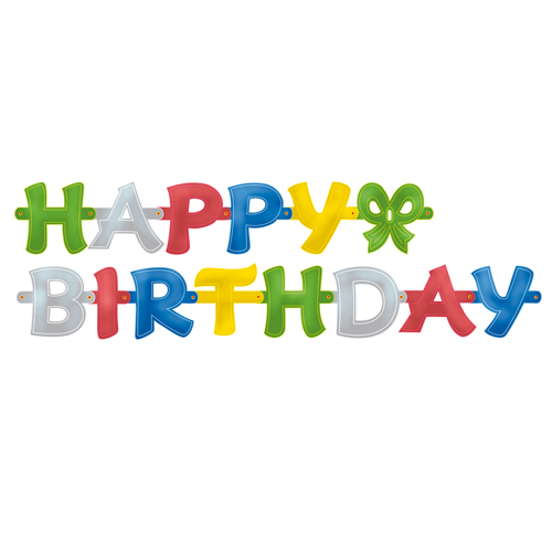 Partykette -Happy Birthday-