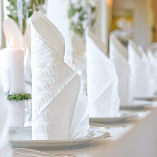 Servietten duni elegance lily in 11 farben 40 x 40 cm - Duni servietten falten ...