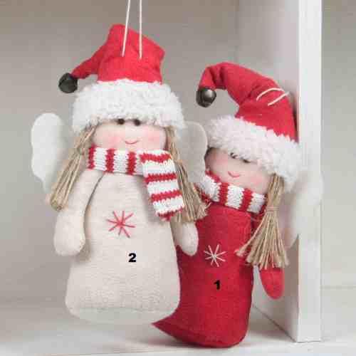 sch ne deko winter engel in den farben rot und wei in ihrem tafeldeko online shop. Black Bedroom Furniture Sets. Home Design Ideas
