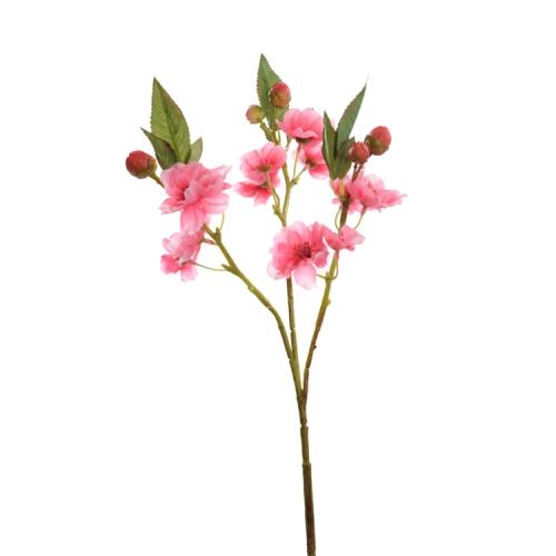 kunstblume pfirsichbl tenzweig in pink 37 cm. Black Bedroom Furniture Sets. Home Design Ideas
