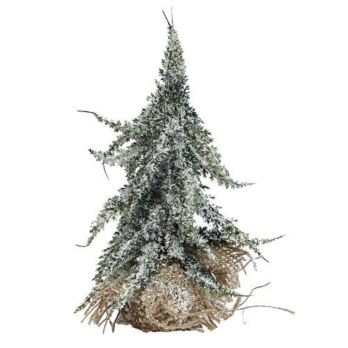 Tannenbaum mit jutesack im tafeldeko shop f r die - Beleuchteter tannenbaum kunststoff ...