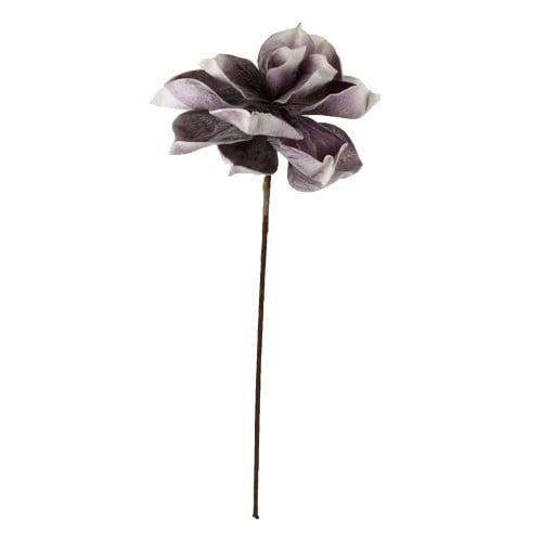 Deko Kunstblume in Grau-Rosa, 70 cm Bild 1