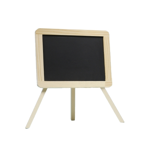 Schultafel zum Beschriften als Tischdeko zur Einschulung, 19 cm