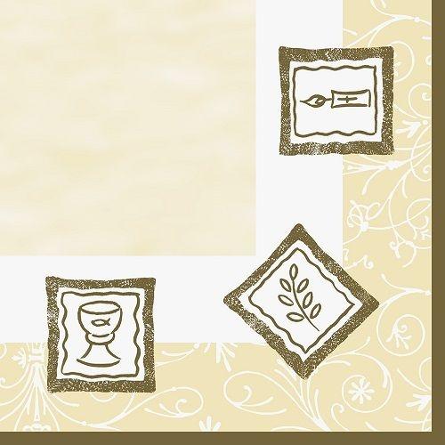 Duni dunilin servietten kommunion konfirmation 40 x 40 cm for Duni servietten weihnachten