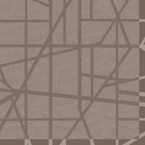 duni dunilin servietten maze greige 40 x 40 cm. Black Bedroom Furniture Sets. Home Design Ideas