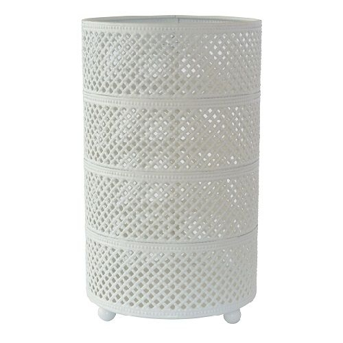 duni metall kerzenhalter stella in wei oder grau 20 cm. Black Bedroom Furniture Sets. Home Design Ideas