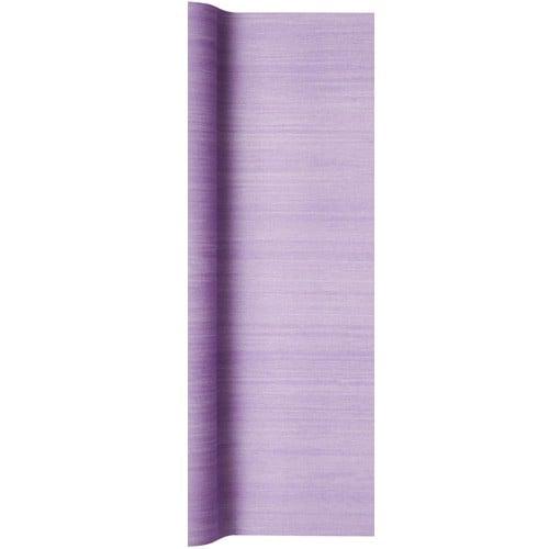5 meter airlaid papier tischl ufer struktur in flieder 40 cm. Black Bedroom Furniture Sets. Home Design Ideas