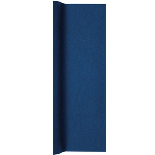 5 meter airlaid papier tischl ufer in dunkelblau 40 cm. Black Bedroom Furniture Sets. Home Design Ideas