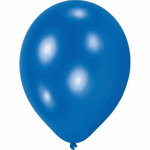 10er Pack Luftballons in Blau