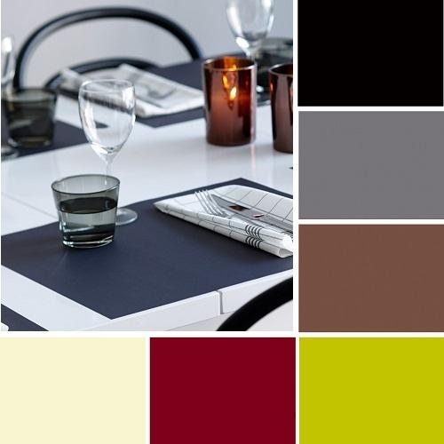 duni papier tischsets f r gro e teller in 8 farben 35 x 45 cm. Black Bedroom Furniture Sets. Home Design Ideas