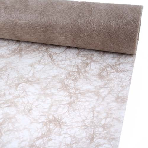 25 Meter Sizoflor® Tischband in Taupe.