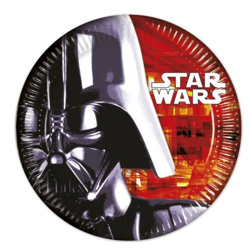 8er Pack Teller Star Wars, 23 cm