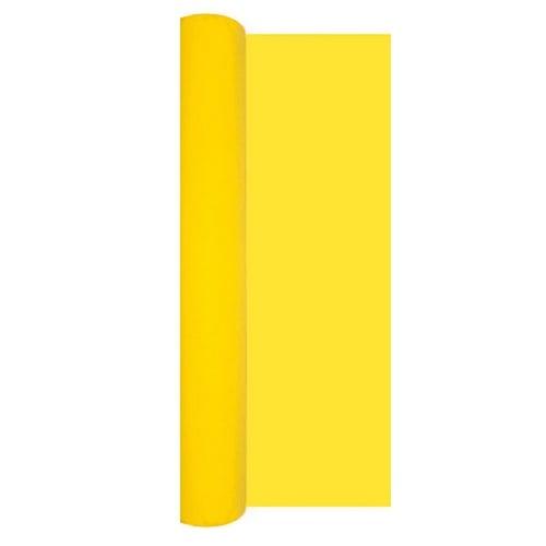 5 meter airlaid papier tischl ufer in gelb 40 cm. Black Bedroom Furniture Sets. Home Design Ideas