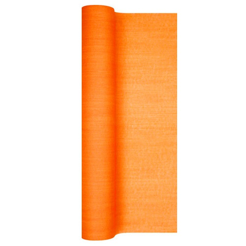 4 9 meter airlaid papier tischl ufer struktur in orange. Black Bedroom Furniture Sets. Home Design Ideas